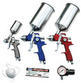 ATD 6900COMBO 9 pc. HVLP Spray Gun Set