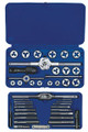 41 pc. Machine Screw/Fractional Hex Tap & Die Super Set