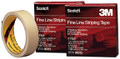 "SCOTCH® FINE LINE STRIPING TAPE, 8 PULL OUTS, 1"" x 550"""
