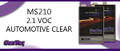 LUS MS210G 2.1 VOC AUTOMOTIVE CLEAR  GALLON