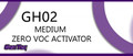 LUS GH02HP MEDIUM ACTIVATOR  (ZERO VOC) HALF PINT