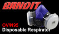 Pre-assembled respirator with organic vapor cartridges and N95 filters for easy use; eliminates cartridge and filter attachment hassles Face piece construction is flexible, lightweight and form fitting to ensure a comfortable fit Low profile cartridges designed for better vision and balance Filters offer low breathing resistance Better comfort and fit for protection from airborne hazards For replacement parts use: N95 filters 8661-22 Part #'s: medium 8661-92, large 8661-93
