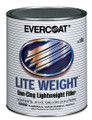 Lite Weight® Our #1 selling, high-quality, clog-free, lighweight body filler is a great value with its smooth spreading, easy sanding features. Non-clog formula adds greater value in sandpaper savings. Blue cream hardener included