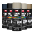 Color Coat™ is a specialty elastomeric coating formulated to restore or change the color of most vinyl surfaces, flexible and rigid plastics, carpet and velour. Color Coat is not a dye, but a fade resistant flexible and permanent coating.