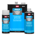 Plastic & Leather Prep is a mild solvent blend to clean plastic and leather prior to refinishing.
