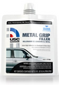 USC® GarageTM Metal Grip Filler has an extra high adhesion that holds up to 33% better on aluminum and steel than the leading competitor. Also for use on fiberglass and wood.