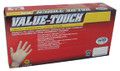 SAS 6594 Value Touch Lightly Powdered Non-Exam Gloves, 5ml,Xl-Large