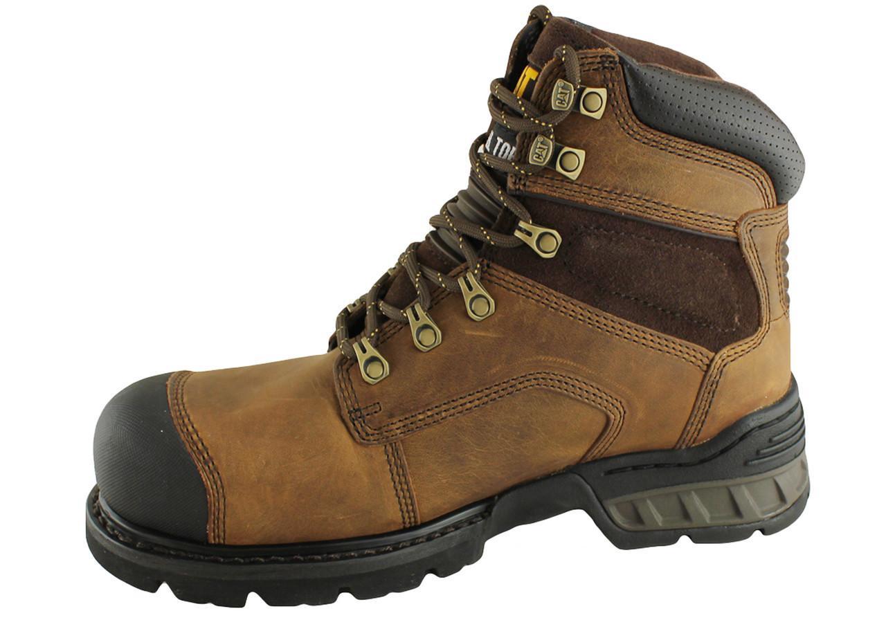 757e30619 CAT Brakeman Steel Toe Zip Side Boot P717493 - Golders Toowoomba