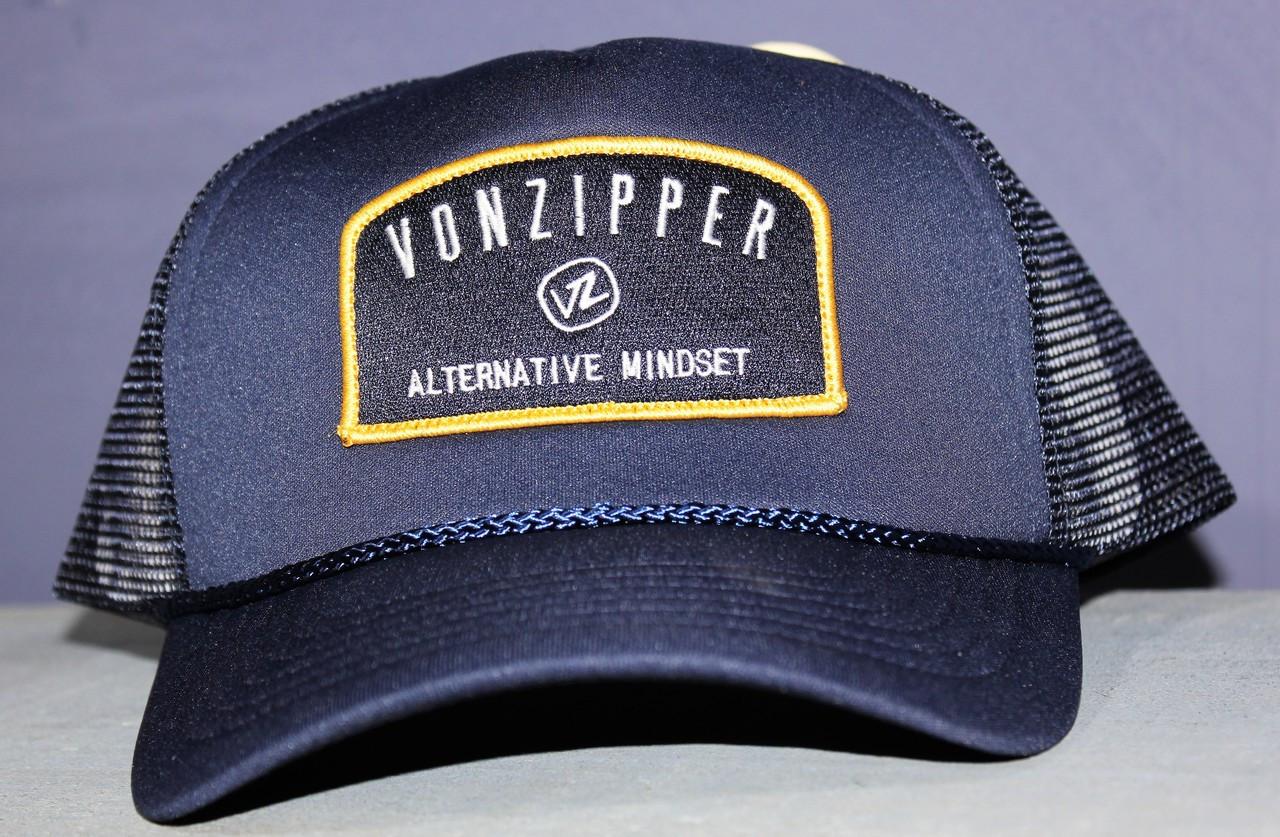 Von Zipper Mindset Cap Navy - Golders Toowoomba 5d6817f81116