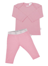 Merino PJ's Pink