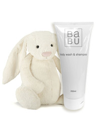 Jellycat and body wash cream