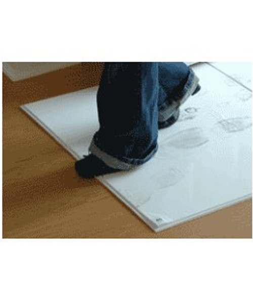 24 INCH X 36 INCH WHITE STICKY MATS FOR CONTAMINATION CONTROL. FOUR PADS, 120 PEELABLE SHEETS