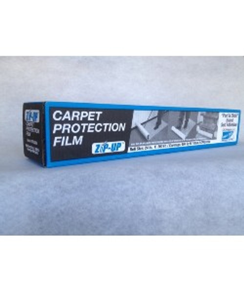 Carpet Film 24 inch x 200 foot roll of film, Roll out film to protect carpet easily in your work areas.