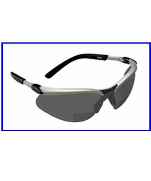3m bx reader 15 diopter lens safety glasses gray hard coat lens