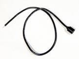 Single pin socket for uv lamp
