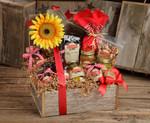 Muy Grande Barnwood Gift Box