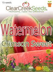 Watermelon - Crimson Sweet (15+ seeds)