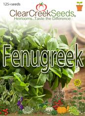 Fenugreek (125+ seeds)