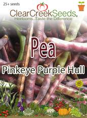 Pea Southern - Pinkeye PurpleHull (25+ seeds)
