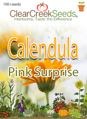"Calendula ""Pink Surprise"" (100+ seeds)"