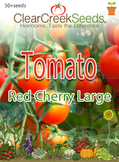 Tomato - Red Cherry Large (50+ seeds)