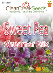 Sweet Pea - Streamer Mix (50+ seeds)