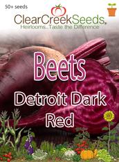 Beets - Detroit Dark Red (50+ seeds)
