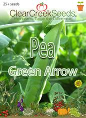 Pea Shelling - Green Arrow (25+ seeds)