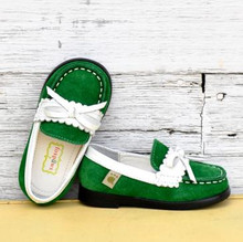 Foxpaws Green Cambridge Loafers