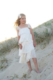 Tea Princess Seashell Layered Dress Final Sale