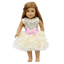 Ooh La La Couture WOW Dream Doll Dress - Champagne