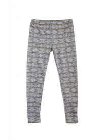 Girl and a Mouse - Grey Nordic Legging
