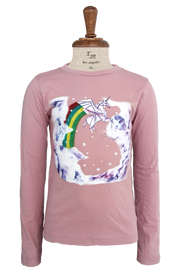 La Miniatura LS Tee Unicorn - Bubble Gum