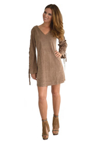 Union of Angels Taupe Sequoia Dress
