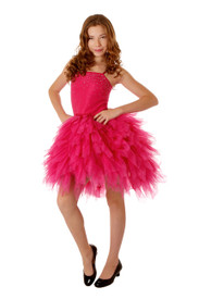 Ooh! La, La! Couture Hot Pink WOW Swarovski Devin Dress