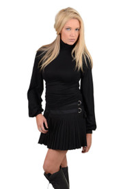Union of Angels Angel Turtle Neck - Black