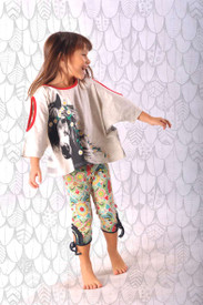 Paper Wings Butterfly Folk Leggings
