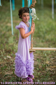 Pixie Girl Fairy Grace Dress - Lavender