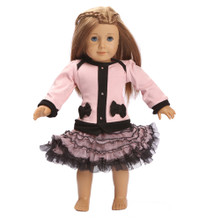 Ooh La La CoCo Cardigan Doll Dress - Blush