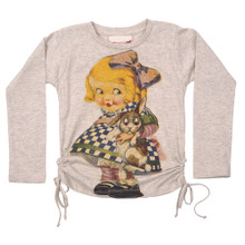 Paper Wings Super Cute Drawstring Tee