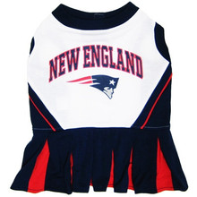 Pet Team Gear - Patriots Cheer Uniform and Leash