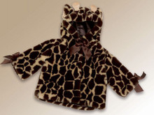 Bearington Collection Giraffe Couture Coat w/ Booties  (size 6-12 mo)