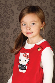 Misha Lulu Hello Kitty Red Mod Jumper