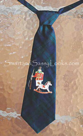 "Ninachka Couture ""Nutcracker"" Boy's Tie"