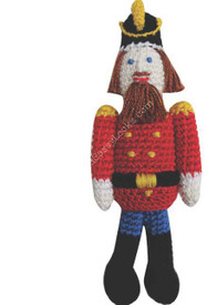 "Ninachka Couture ""Nutcracker"" Rattle"