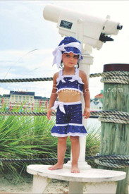 Chichanella Bella Sailor Sadie 2 Piece with HAT