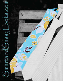 Boys Blue Summer Sky Tie
