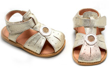 Livie & Luca Celestina Gold Shimmer (size 13 only)