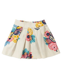 Little Joule Poplin Skirt