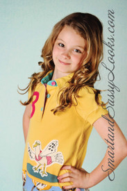 Little Joule Polo Applique Shirt